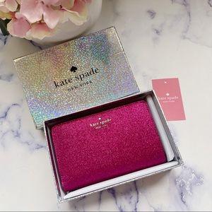 💞👜-NewInBox Kate Spade ✨ Glitter Bifold Wallet